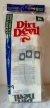 9 Genuine Dirt Devil Type D Vacuum Bags Nine in package - $7.38