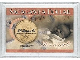Sacagawea Frosty Case - It's a Girl! Snap Lock Coin Storage 3 pk - $6.49