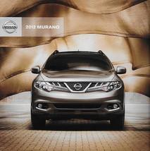 2012 Nissan Murano Brochure Catalog Us 12 Sv Sl Le Crosscabriolet - $8.00