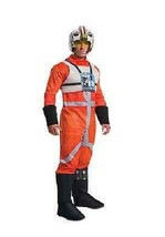 X-WING FIGHTER DELUXE ADULT COSTUME Men Star Wars Cosplay Fancy Dress 81... - $43.32