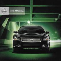 2012 Nissan MAXIMA sales brochure catalog US 12 3.5 S SV 4DSC - $8.00