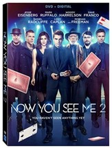 Now You See Me 2 [DVD + Digital] (2016) - $20.88
