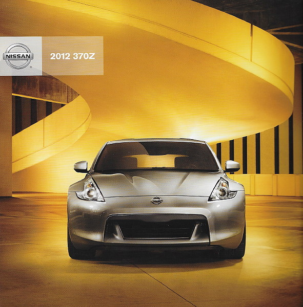 2012 Nissan Z sales brochure catalog US 12 370Z NISMO Touring Roadster
