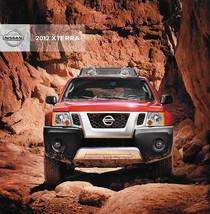 2012 Nissan XTERRA sales brochure catalog US 12 X S PRO-4X - $9.00