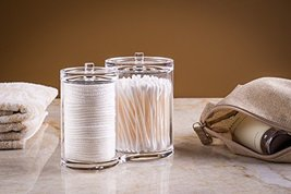 Epica Clear Cotton Ball and Swab Organizer 5844... - $18.35
