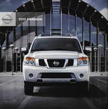2012 Nissan ARMADA sales brochure catalog US 12 SV SL Platinum - $8.00