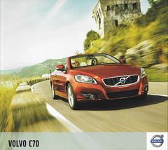 2012 Volvo C70 sales brochure catalog 12 US T5 Premier Plus Platinum - $10.00