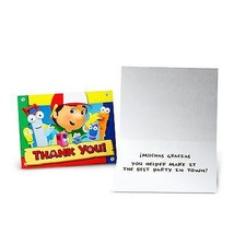 HANDY MANNY THANK YOU CARDS Disney Kids Boys Preschool Notes Birthday Pa... - $6.69