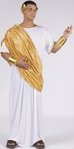 CAESAR COSTUME Adult Mens XL X-Large Roman Halloween Emperor Toga Party ... - $21.21