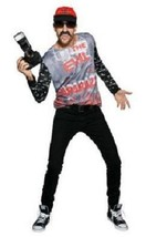 EVIL PAPARAZZI Simon Doonan Adult Mens Costume Halloween Creep Jerk L XL... - $13.03
