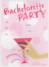 BACHELORETTE PARTY INVITATIONS 10 Note Card Hen Do Wedding Invites Cards... - €4,97 EUR