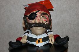 FUNNY PIRATE MASK Adult Men Halloween Costume Buccaneer Women Disguise S... - $21.00