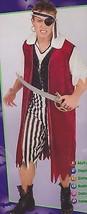 PIRATE KING COSTUME Adult Mens Buccaneer Halloween Jack - $25.21