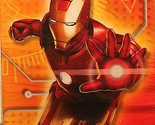 IRON MAN PARTY INVITATIONS Birthday Kids Child Superhero Movie Avengers Boys NEW