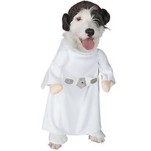 PRINCESS LEIA XL DOG COSTUME Star Wars Rubie's 887894 Halloween Spaniel ... - $14.27