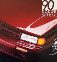 1990 Dodge SPIRIT sales brochure catalog US 90 LE ES - $6.00