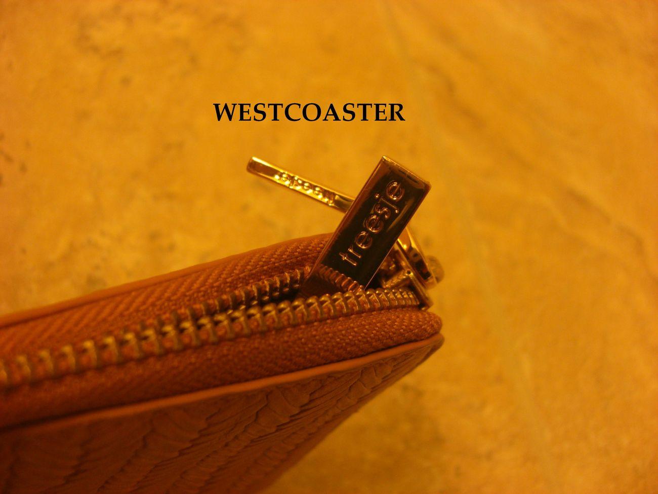 treesje zip around long wallet *camel* NWT