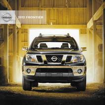 2012 Nissan FRONTIER sales brochure catalog US 12 SV SL PRO-4X  - $7.00