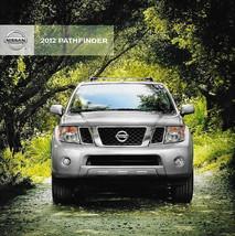 2012 Nissan Pathfinder Brochure Catalog Us Sv Le V8 Silver Edition - $8.00