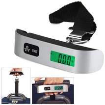 50kg/10g Portable LCD Digital Hanging Luggage Scale Travel Electronic We... - €4,65 EUR