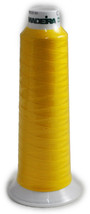 Madeira Poly Yellow 2000YD Serger Thread   91289360 - $5.39