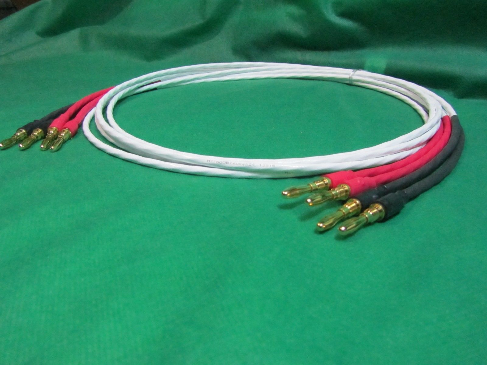 12 Ft Silver Plated 14 AWG Speaker Wire W/ and 34 similar items
