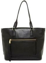 New with Tag - $300 Cole Haan Celia Black Leather Medium Zip Top Tote - $149.99