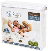 SafeRest Premium Mattress Protector FULL Repels Fluids Dust Mites Allergens - $37.99