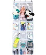 Misslo Mesh Waterproof Hanging Over the Door Organizer For Accessories h... - $26.82