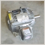 >> Generic MOTOR,WASH/EXTRACT,195/390V 50/60HZ, 5HP,4-POLE 220214, Speed Q