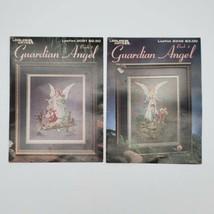 Leisure Arts Guardian Angel Book 1 & 2 Leaflets 2091 & 2345 Unmarked - $9.90