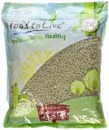 Food to Live Green Peas Whole (Green Vatana) (5 Pounds) - $16.98