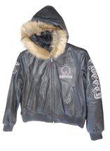 Excelled Girls Looney Tunes Tweety Leather Jacket (L, Black) - $98.95