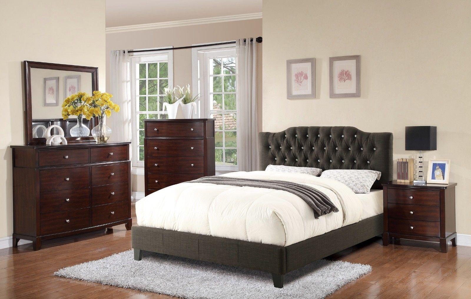 4p bedroom furniture full size bed dresser mirror