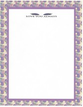 Mother's Day Love You Always Stationery Printer Paper 26 Sheets - $9.89