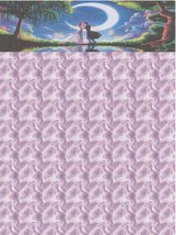 Valentine Day Romance Is In The Air Letterhead Stationery Paper 26 Sheets - $9.89