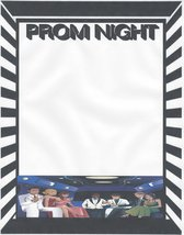 Prom Night Limousine Stationery Printer Paper 26 Sheets - $9.89