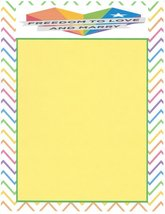 Gay Pride Freedom To Love And Marry Stationery Printer Paper 26 Sheets - $9.89