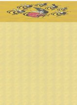 NEW Family of Bees Letterhead Stationery Paper 26 Sheets - $9.89