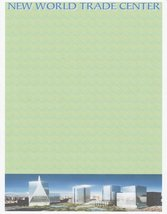 NEW World Trade Center Letterhead Stationery Paper 26 Sheets - $9.89