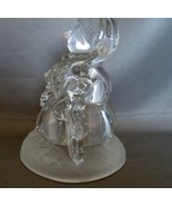 Crystal D' Arques 24 % Lead Crstal Snowman Family - $7.99