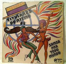 Titulares Do Ritmo Samba Pra Todo Mundo 1974 LP Record Album Made In Bra... - $10.00