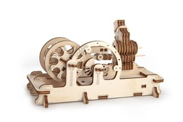 Tinker toys Mechanical 3D Puzzle Brainteaser Eco Wooden Gift Teens and A... - $23.88