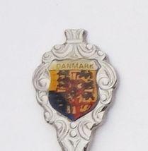 Collector Souvenir Spoon Denmark Danmark Royal Coat of Arms Emblem - $4.99