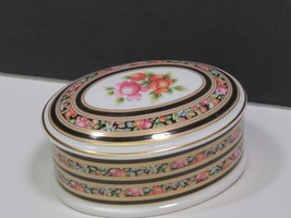Wedgwood Bone China CLIO Oval Trinket Box - $19.78