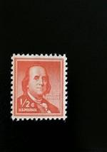 1958 1/2c Benjamin Franklin, Founding Father Scott 1030 Mint F/VF NH - $0.99