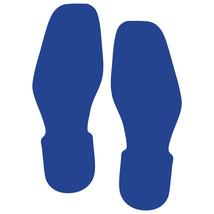 LiteMark Blue Bootprint Decal Stickers - Pack of 12 - $19.95