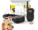 New 2016 LCD 100LV Level Electric SHOCK&VIBRA REMOTE PET DOG SAFE TRAINING CO...