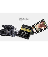 TOSHIBA EXCERIA Pro N502 SD Card 270mb/s 128GB V90 Class 10 U3 UHS-II Me... - $289.31