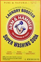 Church Dwight Co 03020 Arm Hammer Super Washing Soda 55 oz h210 l940 w62... - $16.26